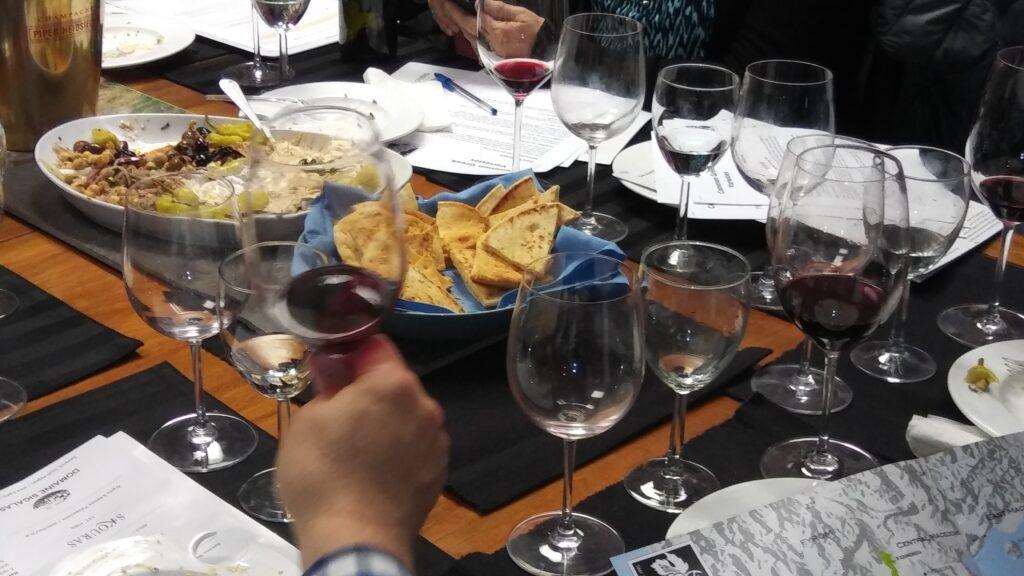 Greek wine tasting